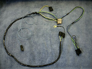1969 Pontiac Firebird 8 Track To Delco Radio Harness 69 Early 1970 T A