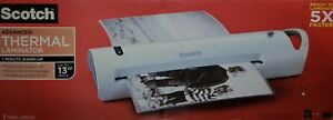 Scotch Advanced Thermal Laminator Machine 13 In tl1302 White E5656