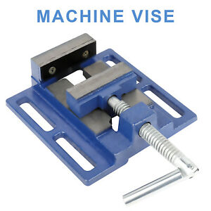 2 5 Bench Vise Clamp Table Flat Drill Press Vice Milling Machine