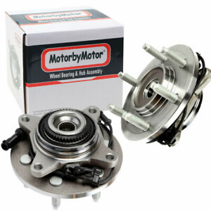 2 Front Wheel Bearing Hub 2003 2006 Ford Expedition Lincoln Navigator 4x4 4wd