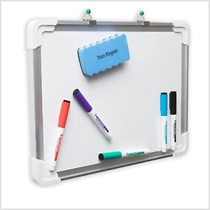 The Ultimate Dry Erase White Board With 5 Magnetic Dry Erase Markers Eraser