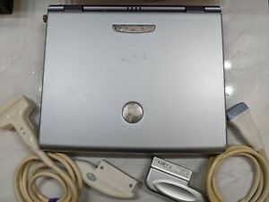 Ge Logiq E Portable Ultrasound System With Linear And Curved Probes 2