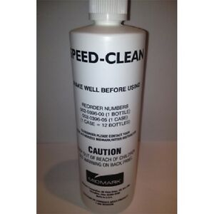 Midmark Speed Clean Speed clean Autoclave Sterilizer Cleaner 16 Oz Bottle Ritter