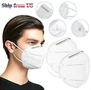Kn95 Face Mask Mouth Cover Pm2 5 Breathable 5 layers Respirator K N95 Nano Mask