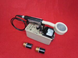 Ludlum Model 3 Survey Meter With 44 9 Package Probe