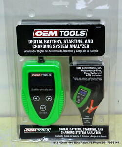 Oem Tools Digital Battery Starting Charging System Analyzer 24359