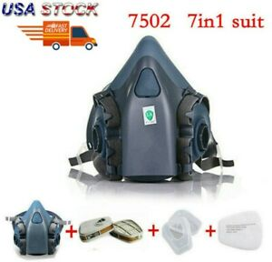 7 In 1 Suit Half Face For 3m 7502 Respirator