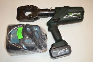 Greenlee Esg45l Gator 7 7 Ton Cordless Cable Cutter Ground Rod Cutter