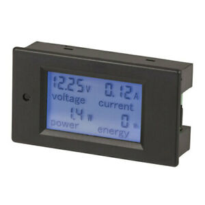 High Quality Meter Power Ac 20a 80 260v W Lcd Ideal For Monitoring Energy Usage