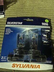 Sylvania Silverstar 9006 Pair Set Headlight Bulbs