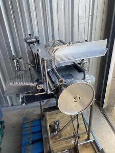 Berkel 180 Automatic Stacker Meat Slicer W Stand Extras Very Clean