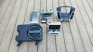 2012 2013 2014 Ford Focus Titanium Navigation Radio Cd Sony Screen Complete Kit