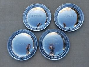 Vintage 1954 Buick 15 Hubcap Full Wheelcover Center Cap Set 4 Gm Free Shipping