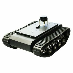 Ros Robot Tank Chassis Tracked Vehicle Max Load 20kg Suspension System Assembled