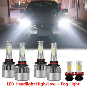 For Honda Accord 2006 2009 2010 2011 2012 Led Headlight High Low Fog Light Bulbs