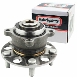 Rear Complete Wheel Hub And Bearing Assembly For 2008 2011 2012 Honda Accord
