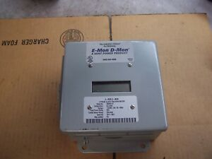 New E mon D mon 208200 Kit 3 Phase Class 2000 Kwh Meter 120 208 240 Vac 3 4 Wire
