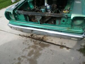 Amc Front Bumper Off Of A 1968 Rambler American 440 Used Needs Work