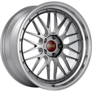 4 19x9 5 Black Machined Wheel Bbs Lm 5x120 32