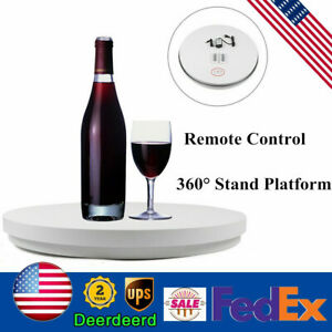 Commercial Display Electric Remote Control Rotary Table Diam 60cm Platform