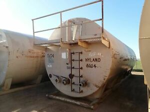 Custom 2 Frac Storage Water Tank 500 Barrel 21000 Gallon Skid mounted 2805