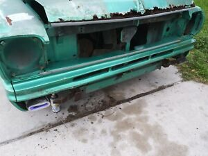 Amc Front Bumper Valance Panal 1968 American Rambler Great Shape Used Original