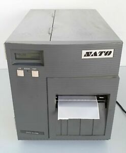 Sato Cl408e Industrial Barcode Label Thermal Printer Parallel 203dpi