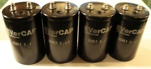Nichicon Evercap 2 200 F Super Capacitor 2200 Farad new