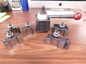 Phase Ii Series Bxa Wedge Type Tool Post And Holder Set 251 222