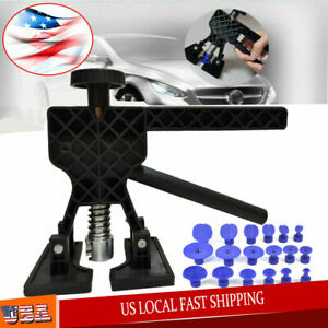Car Body Dent Lifter Puller Tabs Paintless Dent Repair Hail Removal Tool Kit Usa