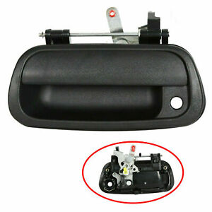 For 2000 06 Toyota Tundra Tail Gate Tailgate Handle Textured Pickup Truck Black