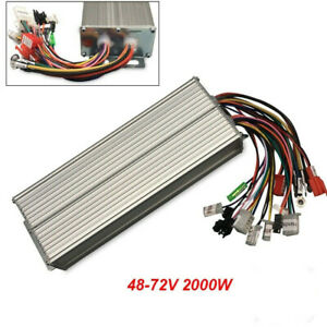 Brushless Motor Controller For E bike Scooter Electric Bicycle Dc 48 72v 2000w