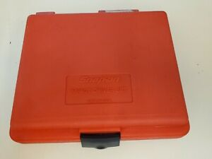 Snap On Tools Usa 1 4 Socket Red Plastic Case For Set 208epit Free Ship