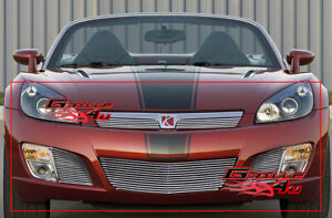 Fits 2007 2009 Saturn Sky Red Line Billet Grille Combo