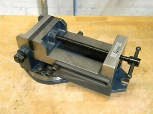 Gibraltar Industrial Angle Vise W Swivel Base 6 Jaw Width 6 Opening Capacity