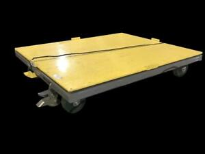 Industrial Steel 48 X 40 Pallet Cart All Purpose Dolly