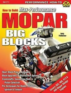 Mopar Dodge Plymouth 440 426w 413 400 383 Big Block Engines Book