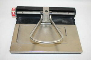 Rolodex Punchodex Model P 209 big Mac Paper Punch Made In The Usa Fast Ship