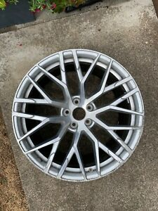 Oem Audi R8 20 X 8 5 Front Wheel Rim Silver Machined 4s0601025