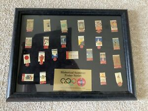 Coca Cola Olympics Pin Display