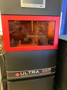 Envisiontec Ultra 3sp Sla 3d Printer Complete Working Turnkey System