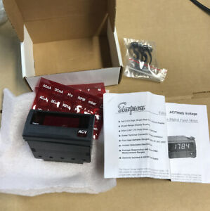 Simpson Falcon F35 Series Digital Panel Meter F35 1 34 0
