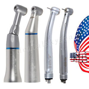 Nsk Style Dental Led E generator high Low Speed Handpiece Contra Angle Usa