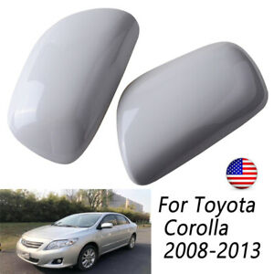 2pcs Rearview Mirror Cover For Toyota Corolla 2007 2008 2009 2010 2011 2012 2013