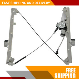 Window Regulator With Motor Front Driver Left Side For Chevy Silverado 99 06