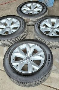 4 Wheels And Tires 18 Inch Of Vw
