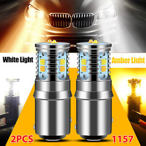 10x Red Amber 2 5 Led Fender Clearance Side Marker Tail Light Truck Rv Trailer