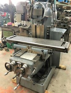 Schaublin Model 53 Universal Milling Machine With Tooling