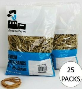Premium Rubber Band Depot Size 33 3 5 X 0 1 25 Pounds Made In Usa
