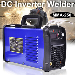 140 Amp Mma 250 Inverter Portable Digital Welder Stick Welding Machine 110v